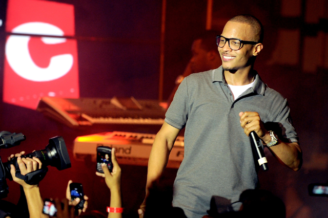 T.I./ Photo by Jamie McCarthy/Getty Images for AXE