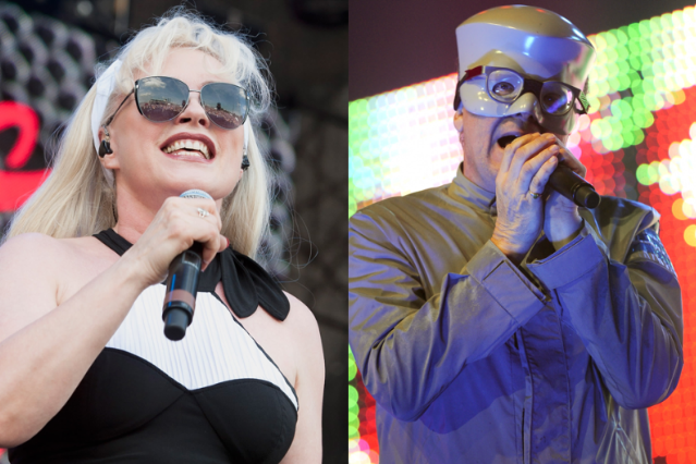 Debbie Harry (Erika Goldring/Getty) / Mark Mothersbaugh (Tim Mosenfelder/Getty)