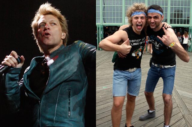 Bon Jovi & fans / Photo by Kenneth Bachor