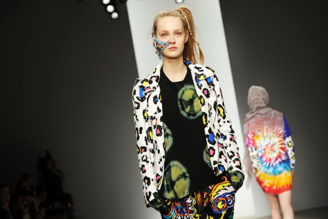 Ashish's Autumn/Winter 2012 show at London Fashion Week / Photo by Stuart Wilson/Getty