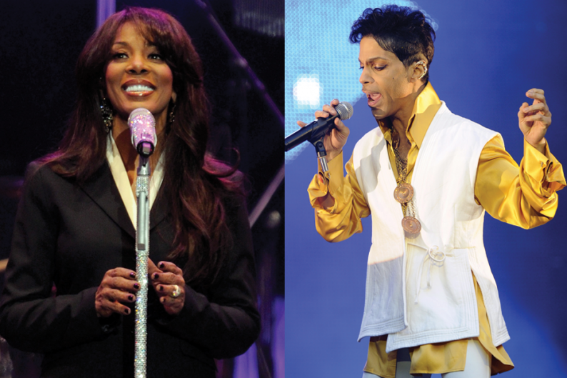 Donna Summer (Ethan Miller/Getty) / Prince (Bertrand Guay/AFP/Getty)