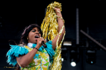 Santigold at Sasquatch! / Photo by Jim Bennett