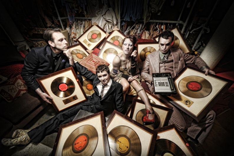 Amanda Palmer & The Grand Theft Orchestra / Photo by Kyle Cassidy