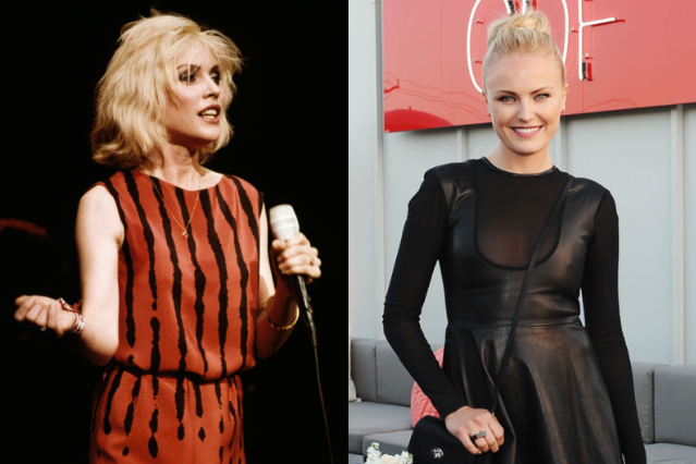 Debbie Harry / Photo by Kevin Cummins/Getty, Malin Akerman / Photo by Stefanie Keenan/WireImage