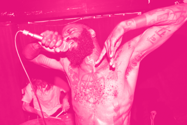 Death Grips' Stefan Burnett / Photo by Jonathan Magowan