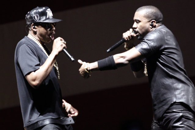 Jay-Z and Kanye West / Photo by Guillaume Baptiste/AFP/Getty