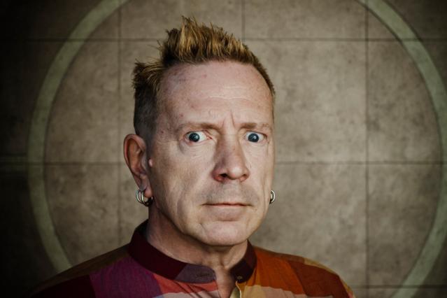 John Lydon / Photo by Paul Heartfield