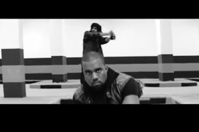 Watch Kanye West and Co 's Stark, Swervy 'Mercy' Video | SPIN