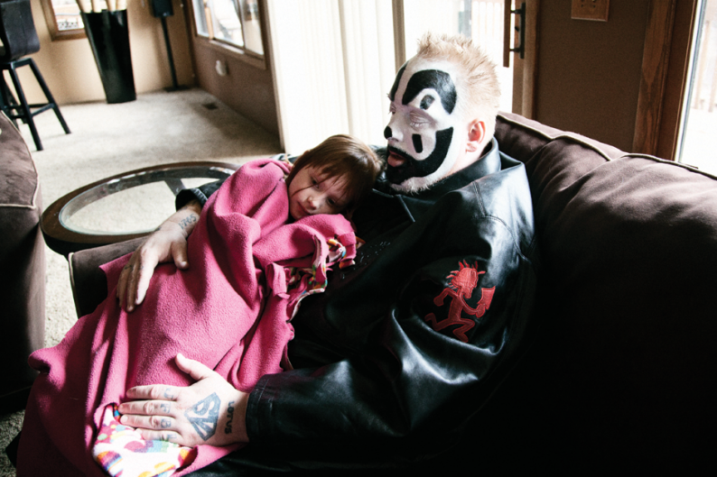 Violent J and his daughter Ruby / Photo by Ysa Pérez
