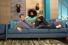 Scott Aukerman and Reggie Watts