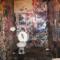 CBGB's plush restroom offerings / Photo by David Corio/Michael Ochs Archives/Getty