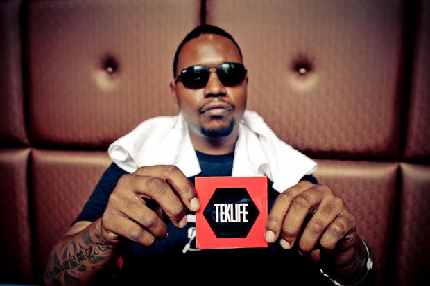 DJ Rashad / Photo by Ashes57