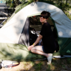 Stake Out: SPIN Watches EMA Pitch a Tent at Bonnaroo