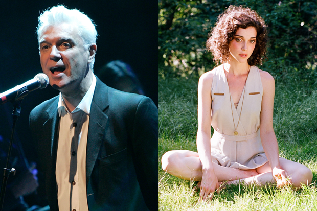 David Byrne & St. Vincent / Photo by Mike Lawrie/Getty, Byrne