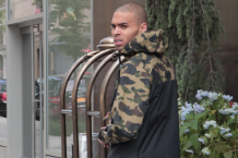 Chris Brown / Splash News