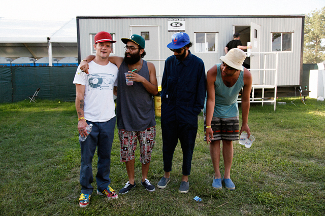Flea & Das Racist / Photo by Ysa Pérez