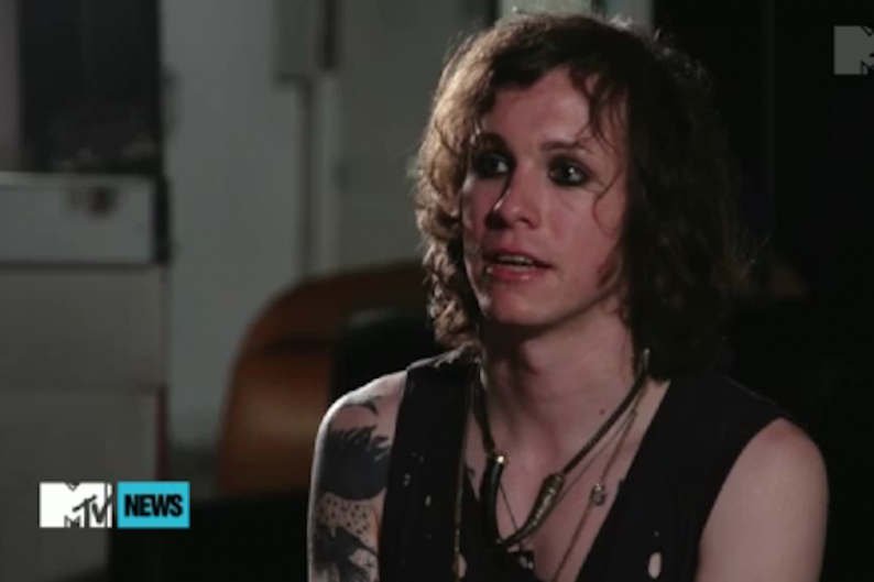 Laura Jane Grace on MTV News