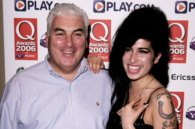 Mitch and Amy Winehouse / Photo by Dave Hogan/Getty