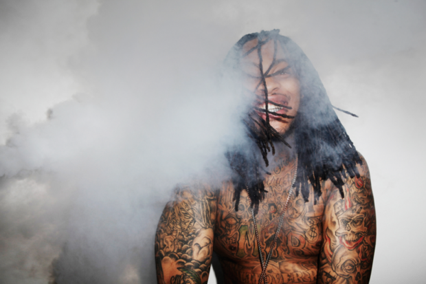 Waka Flocka Flame, shot for SPIN by Jason Nocito