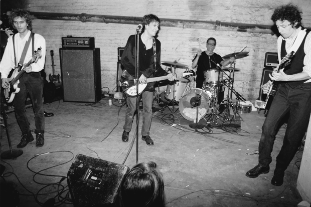 The Replacements perform in Minneapolis, 1990 / Photo by Jim Steinfeldt/Michael Ochs Archives/Getty