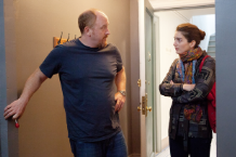 Louis C.K. and Gaby Hoffman