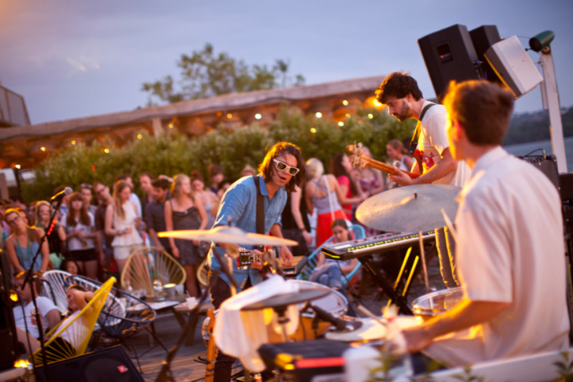 Dirty Projectors at SPIN Live / Photo by Jonathan Hökklo