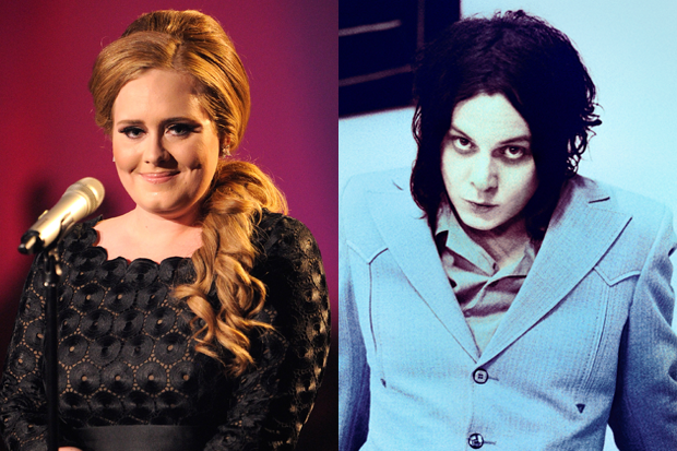 Adele & Jack White / Photo: Getty Images (Adele)