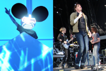 Deadmau5 (Getty Images) / Gerard Way (Mark Sullivan)