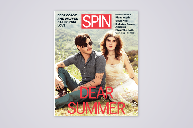 SPIN's July/August cover / Photo by Dan Martensen