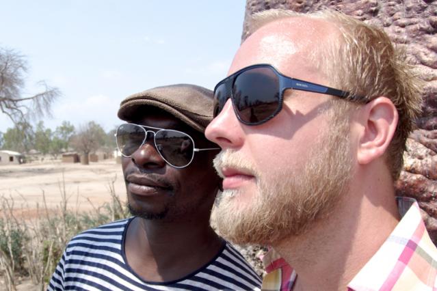 The Very Best's Esau Mwamwaya and Johan Hugo