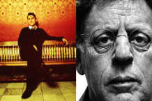 Greg Dulli and Philip Glass / Dulli by Sam Holden