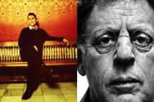 Greg Dulli and Philip Glass / Dulli by Sam Holden
