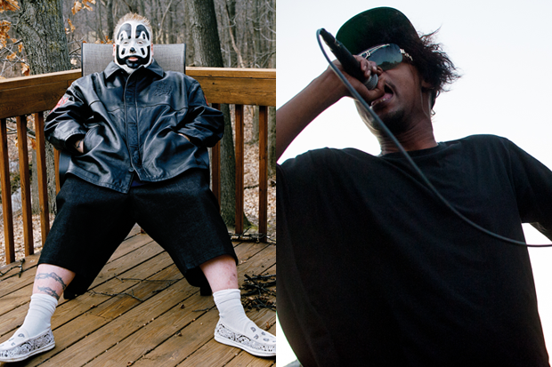 Violent J and Danny Brown (Ysa Perez Brown/ Ryan Muir)