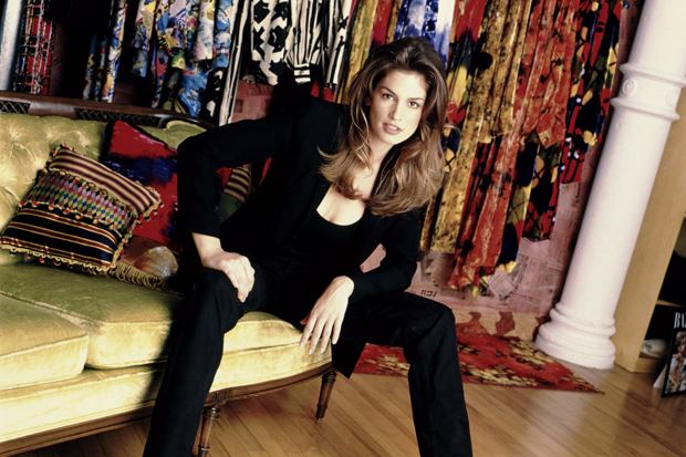 Cindy Crawford / Photo by MTV/Courtesy Everett Collection