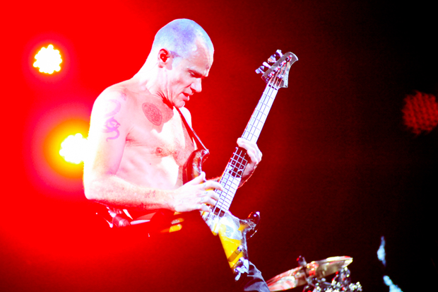 Flea onstage at Austin City Limits / Photo by Ian Witlen