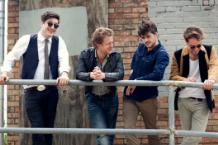 Mumford & Sons' Marcus Mumford, Ted Dwane, 'Country' Winston Marshall, Ben Lovett