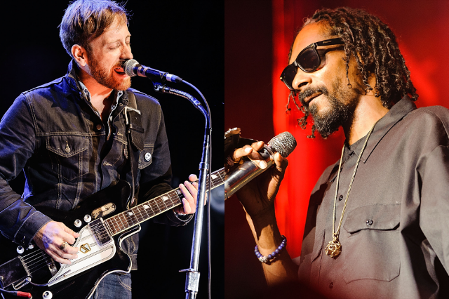 Dan Auerbach & Snoop Dogg / Photo by Getty Images