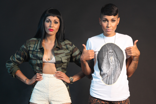 Nina Sky / Photo by Aliya Naumoff