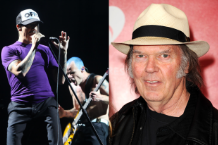 RHCP (Photo: Mark C. Austin); Neil Young (Photo: Getty Images)