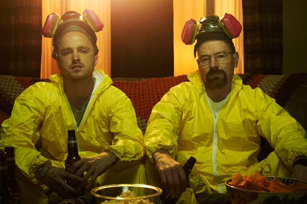 Aaron Paul and Bryan Cranston / Photo courtesy AMC