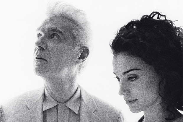 David Byrne and. St. Vincent