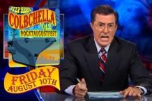 Colbert promotes StePhest Colbchella