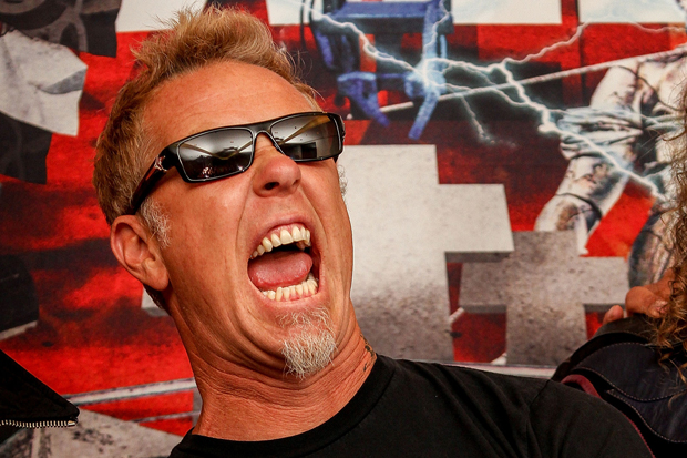 James Hetfield / Photo by Getty Images