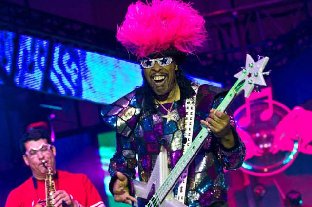 Bootsy Collins / Photo by Erik Voake