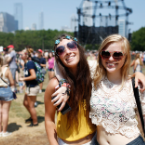 Lollapalooza's Fans: Pandas, Zombies, Superheroes, and the Occasional Human
