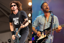 Foo Fighters / Black Keys (Photos by Getty Images)