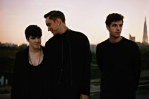 The xx's Romy Madley Croft, Oliver Sim, and Jamie Smith / Photo by Jamie-James Medina