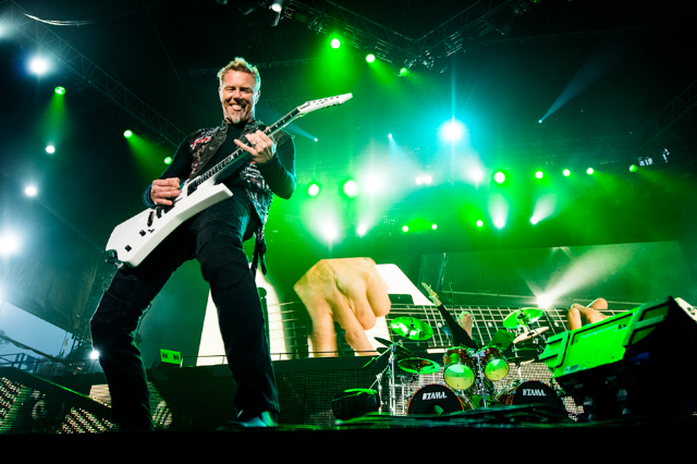 Most Major Lasers: METALLICA