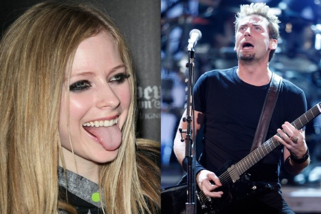 Avril Lavigne and Chad Kroeger / Photos by Getty Images