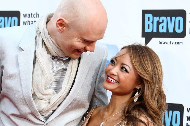 Billy Corgan and Tila Tequila / Photo by Getty Images